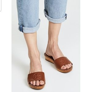 Tory Burch Patty 35mm Wedge slide sandal